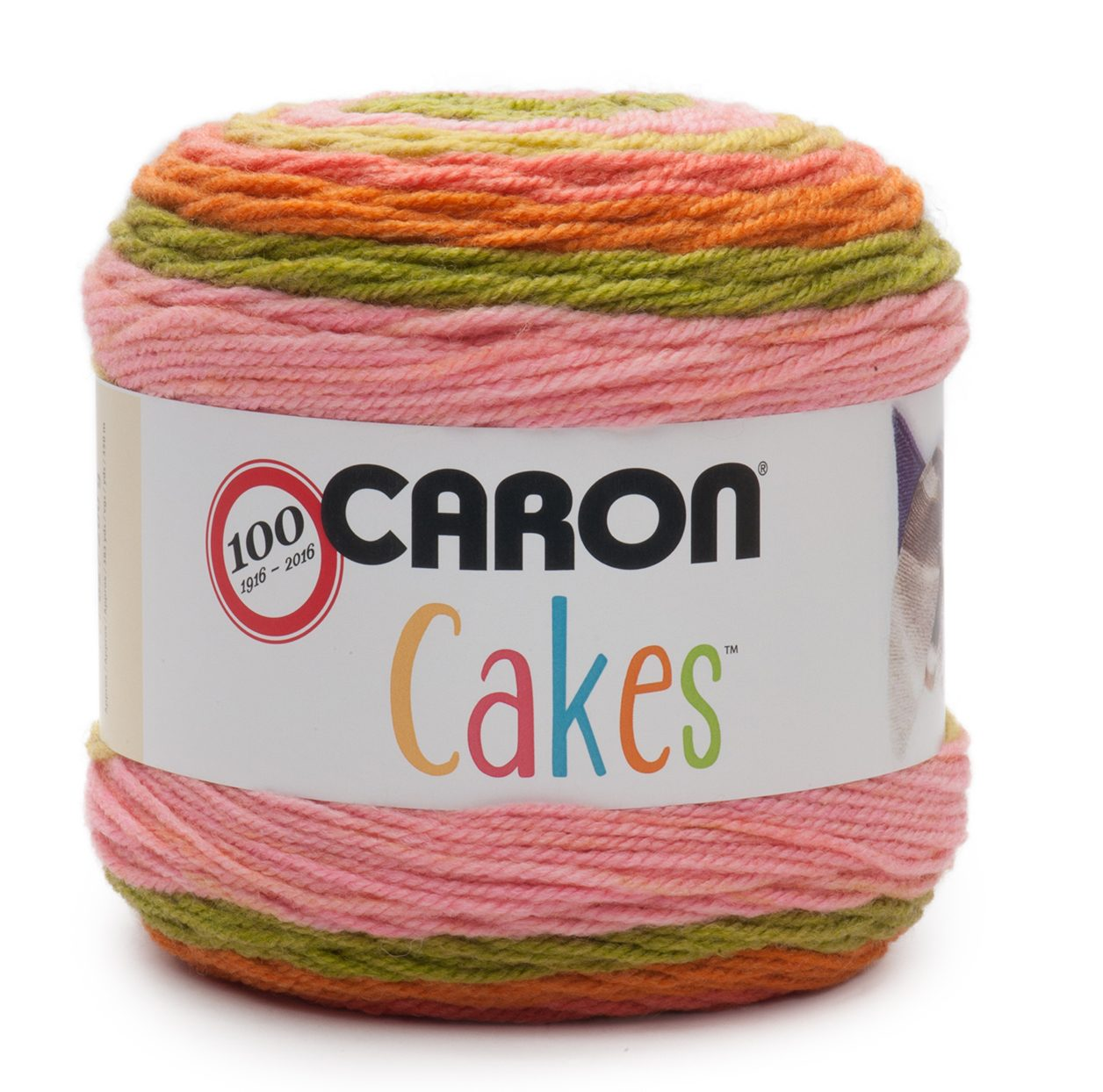 NEW Caron Cakes Strawberry Kiwi Yarn - one of 8 new colorways for 2017 plus free patterns featuring the original Caron Cakes colors