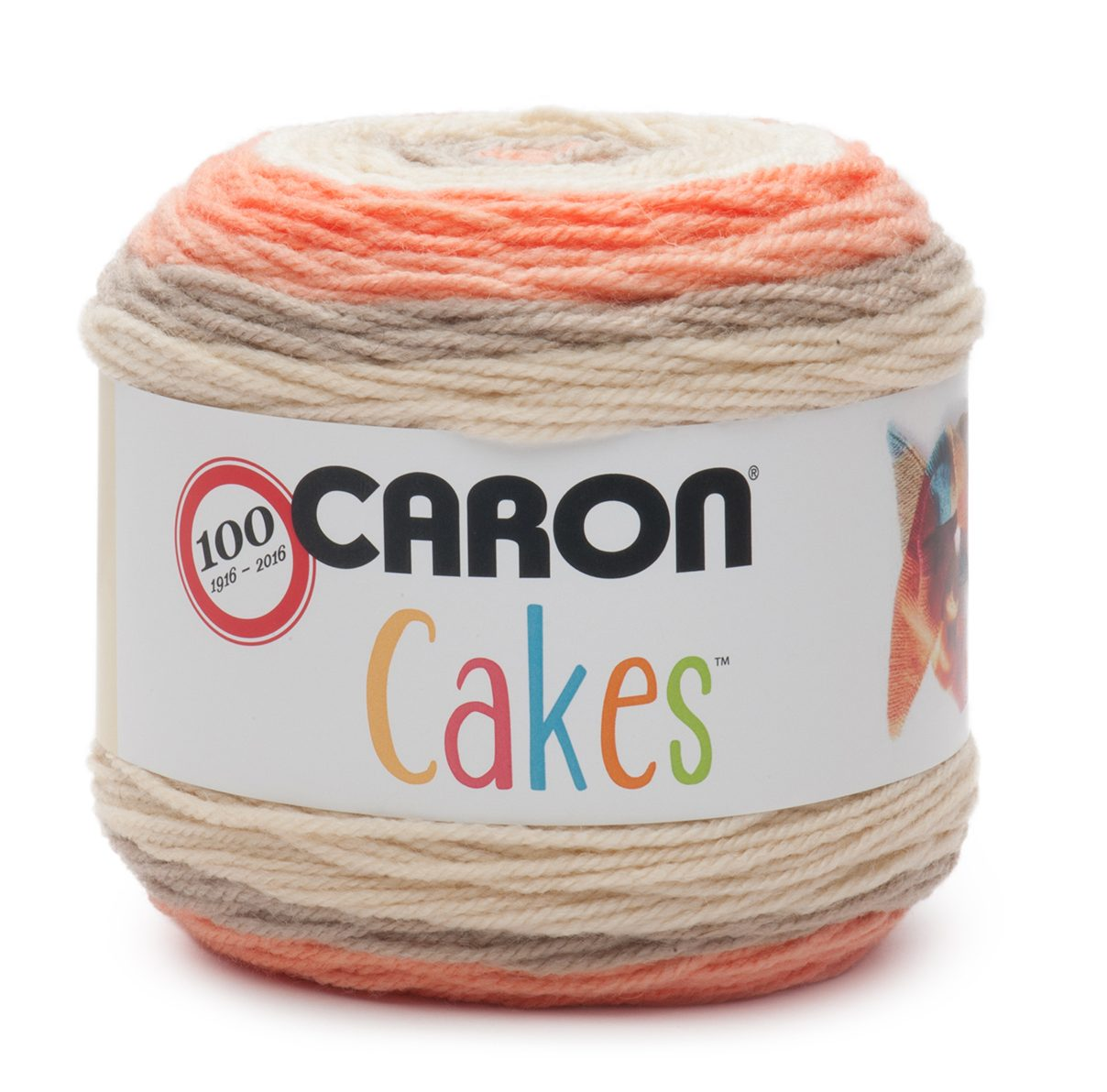 NEW Caron Cakes Strawberry Trifle Yarn - one of 8 new colorways for 2017 plus free patterns featuring the original Caron Cakes colors