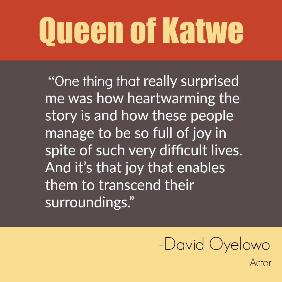 Queen of Katwe Quote - David Oyelowo