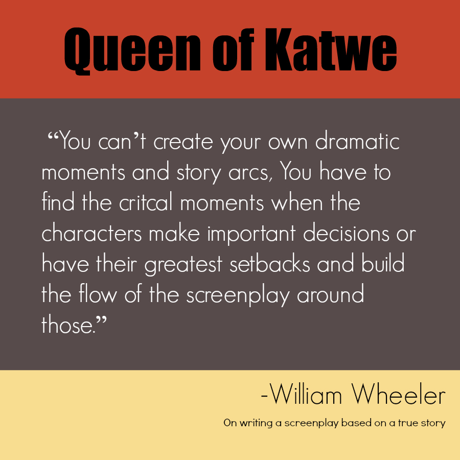 Queen of Katwe Quote Screenplay