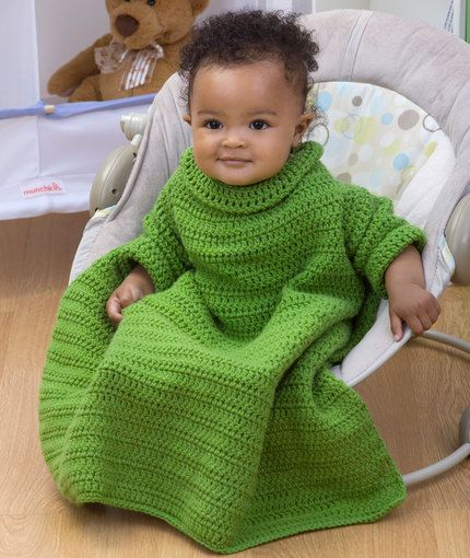 Red Heart Baby Snuggle Blanket Free Crochet Pattern