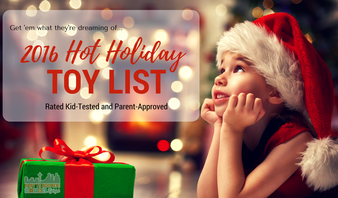Hot Christmas Toys : Hot holiday toys rated kid tested and parent approved
