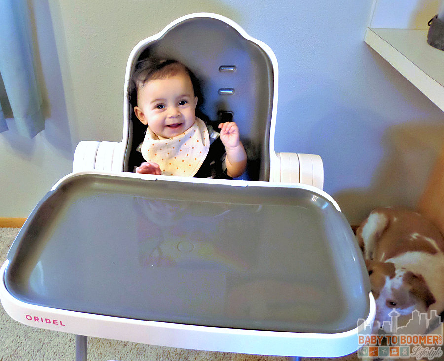 Oribel Cocoon Highchair - for kids from 6 months to 3 years - ad