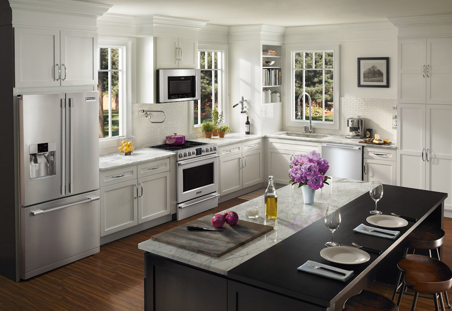 Create your dream kitchen with frigidaire professional for Dream kitchen appliances