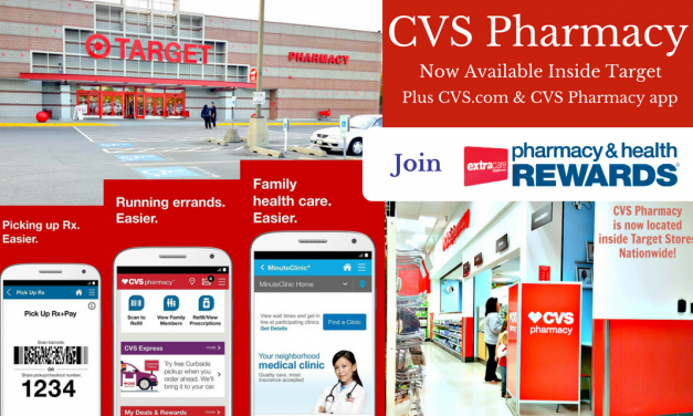 CVS Pharmacy Services Available Inside Target and Online  #TheCVSDifference @CVS_Extra
