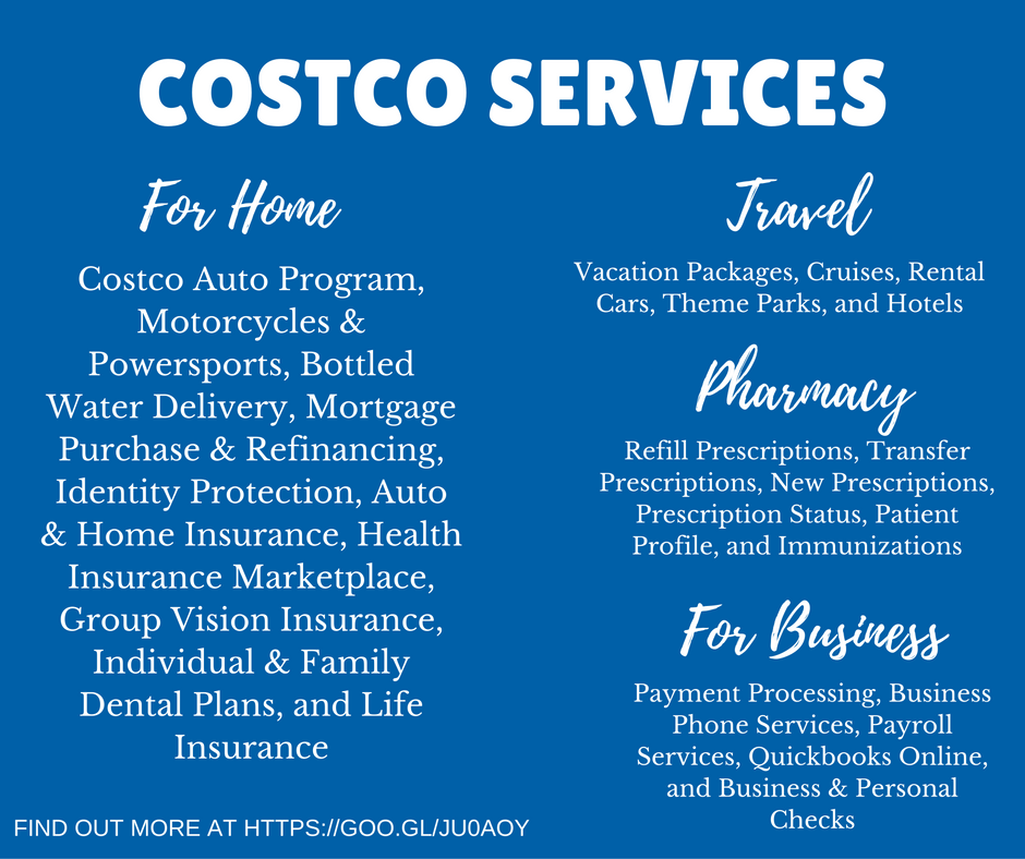 Costco Services for Home & Business including Travel and Pharmacy #ad