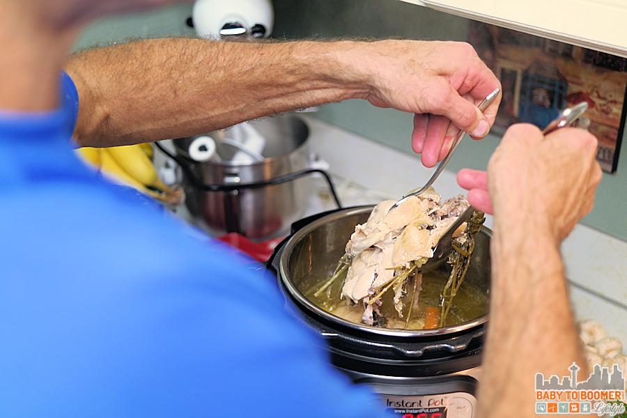 Instant pot pressure cooker homemade chicken stock harvest forumfinder Images