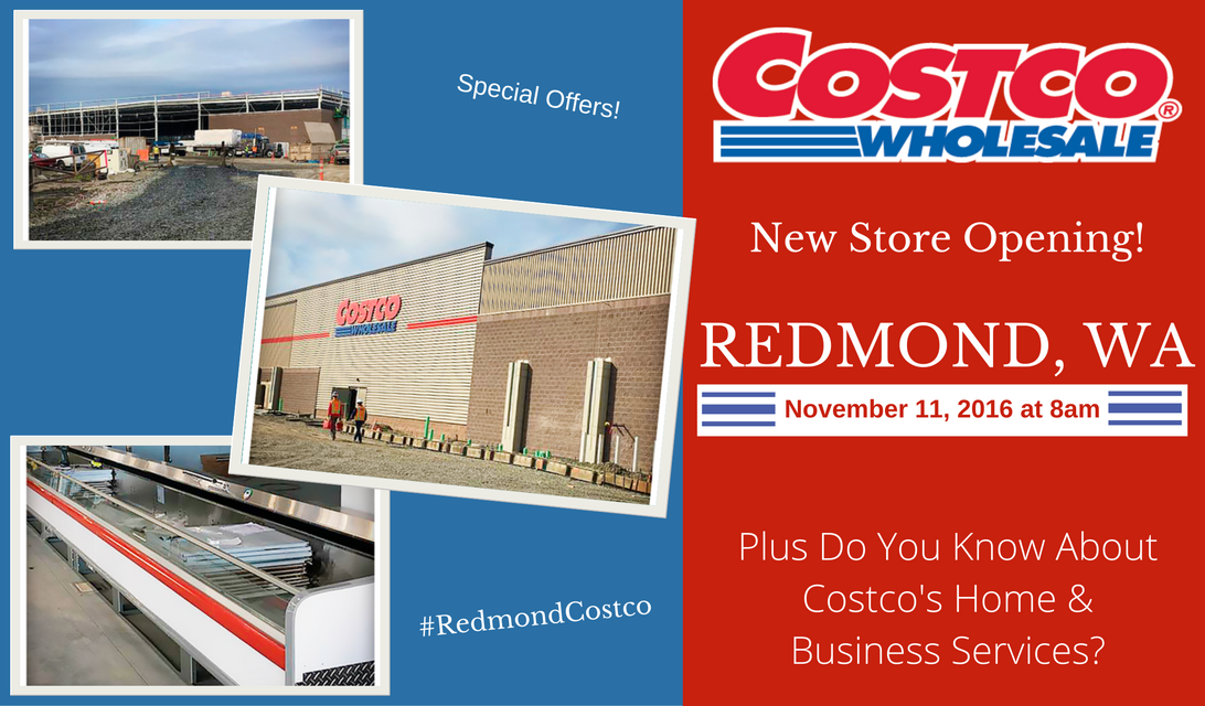 redmond costco opening costco 39 s home and business services. Black Bedroom Furniture Sets. Home Design Ideas