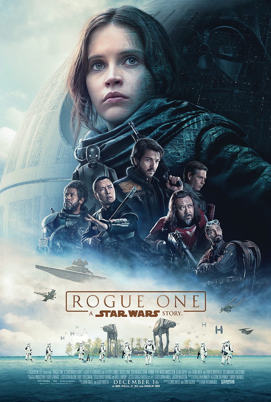 STAR WARS ROUGE ONE Poster - Payoff