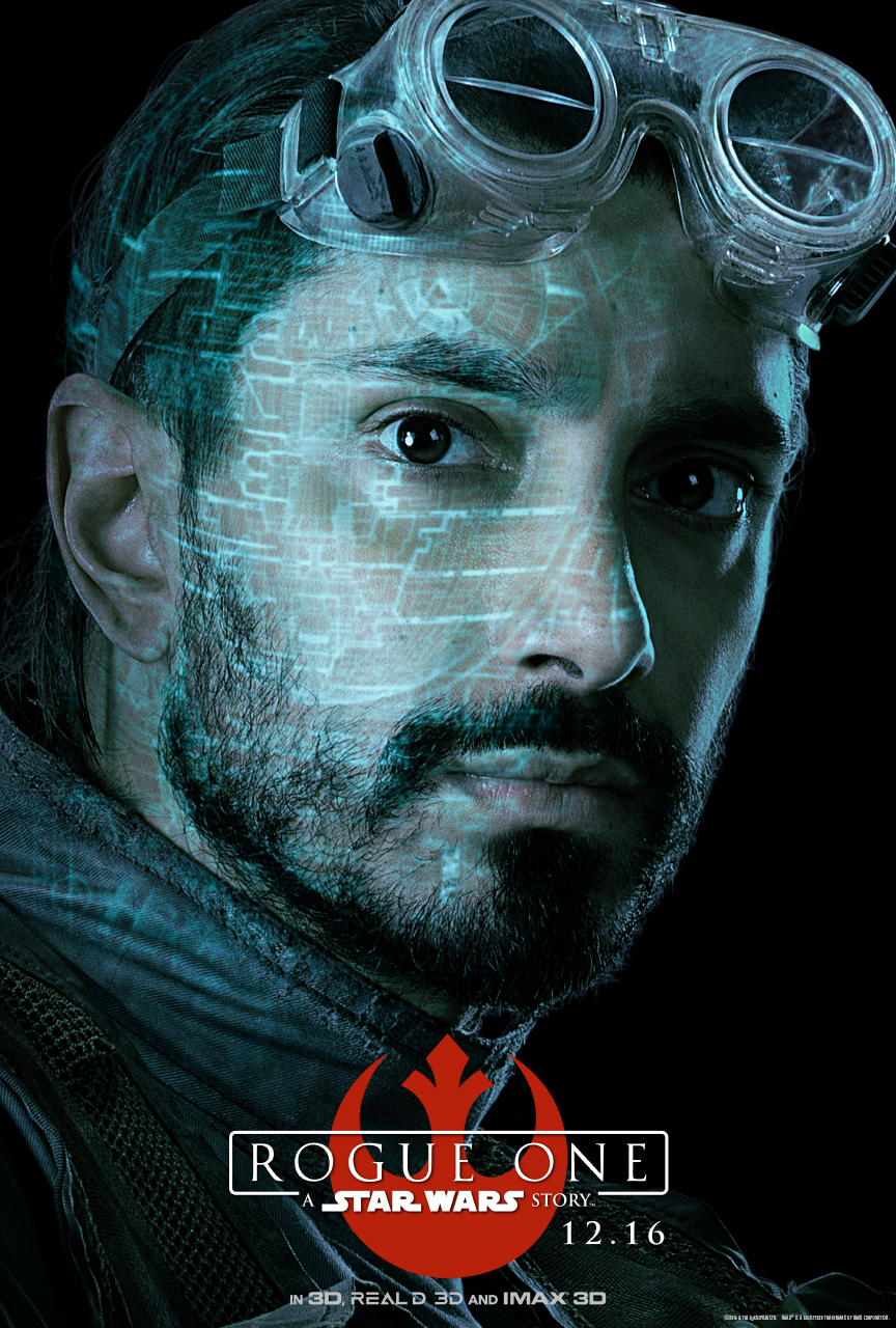 STAR WARS ROUGE ONE Character Poster - Bodhi Rook (Riz Ahmed)
