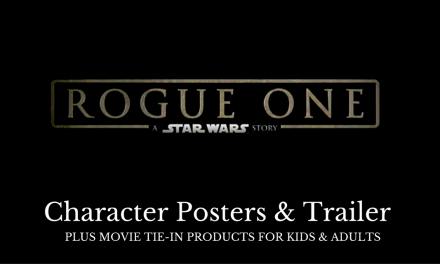 ROGUE ONE: A STAR WARS STORY Character Posters & Tie-in Merchandise #ROGUEONE