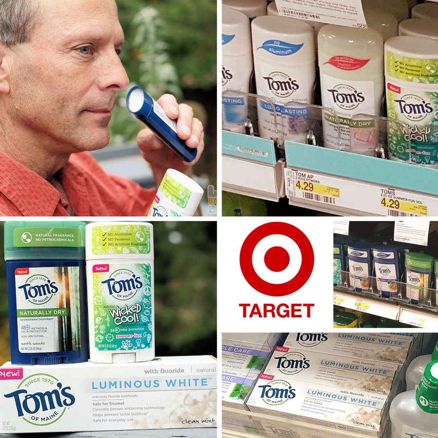 Tom's of Maine Made to Matter Collection at Target ad