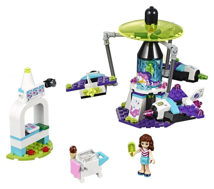 LEGO Friends Amusement Park Space Ride Building Kit - 41128