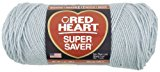 Red Heart Super Saver Economy Yarn, Light Grey