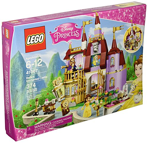 LEGO Disney Princess 41067 Belle's Enchanted Castle Building Kit (374 Pieces)