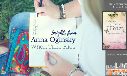 "Insights from Anna Oginsky, author of ""My New Friend, Grief"""