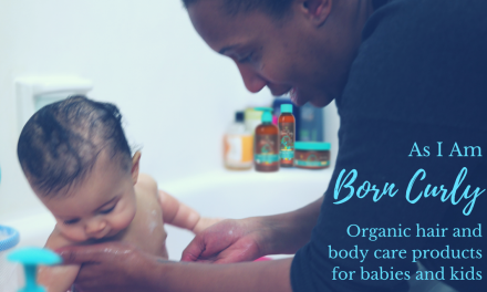 Born Curly: Organic Hair & Body Products for Kids from Birth to 10! @AsIAmNaturally #BornCurly