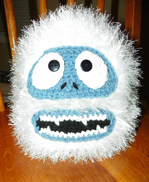 Bumble Hat - Abominable Snowman Rudolf by R Solberg - kids to adult sizes