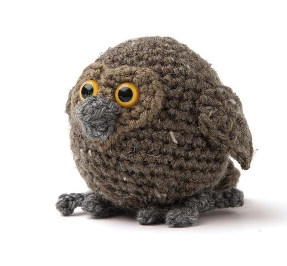 Enchanted Forest Creatures Crochet Pattern - Baby Owl