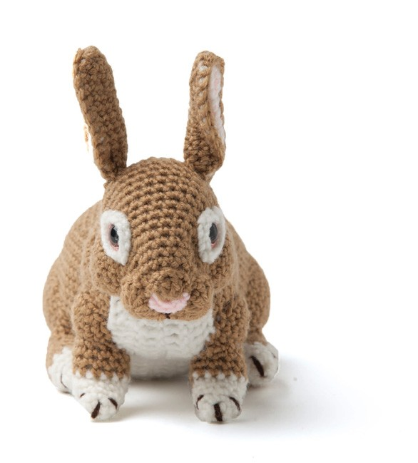 Enchanted Forest Creatures Crochet Pattern - Bunny Rabbit