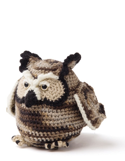 Enchanted Forest Creatures Crochet Pattern - Owl