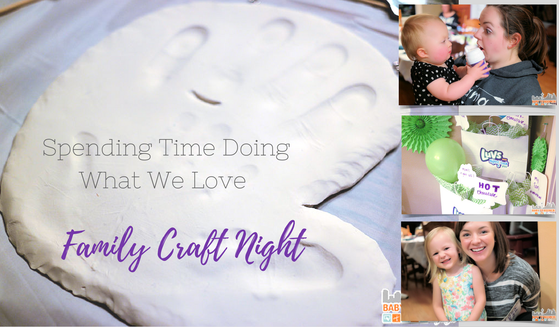 Spending Time Doing What We Love – Family Craft Night