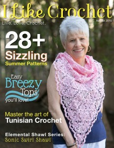 I Like Crochet Digital Magazine - Issue 2015 August