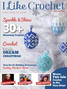 I Like Crochet Digital Magazine - Issue 2015 December