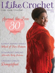 I Like Crochet Digital Magazine - Issue 2015 February (Valentine's Day)