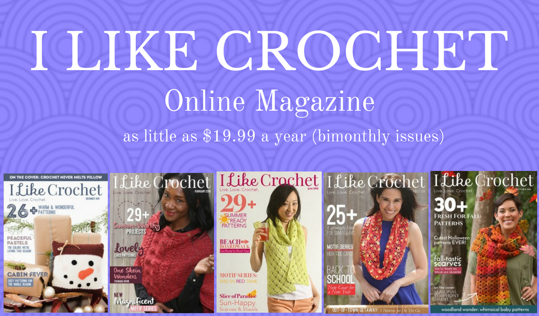 Free Crochet Magazine Subscriptions : Like Crochet Digital Magazine: 30 Patterns & 7 Video Tutorials in ...