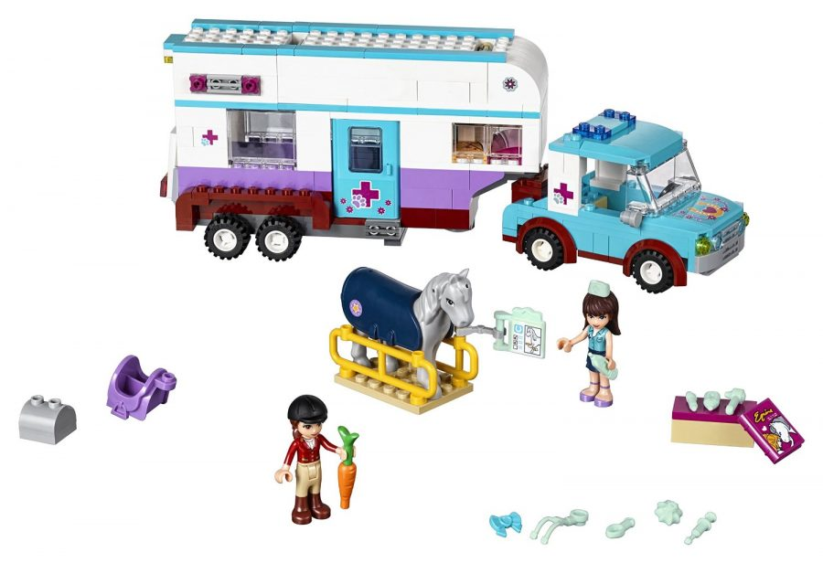 LEGO Friends 41125 Horse Vet Trailer Building Kit