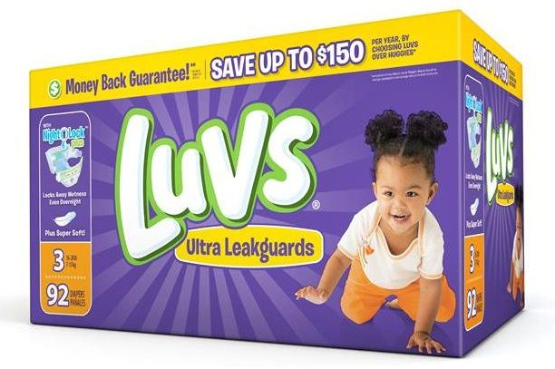 Luvs Ultra Leakguards with NightLock Plus Luvs Ultra Leakguards with NightLock Plus