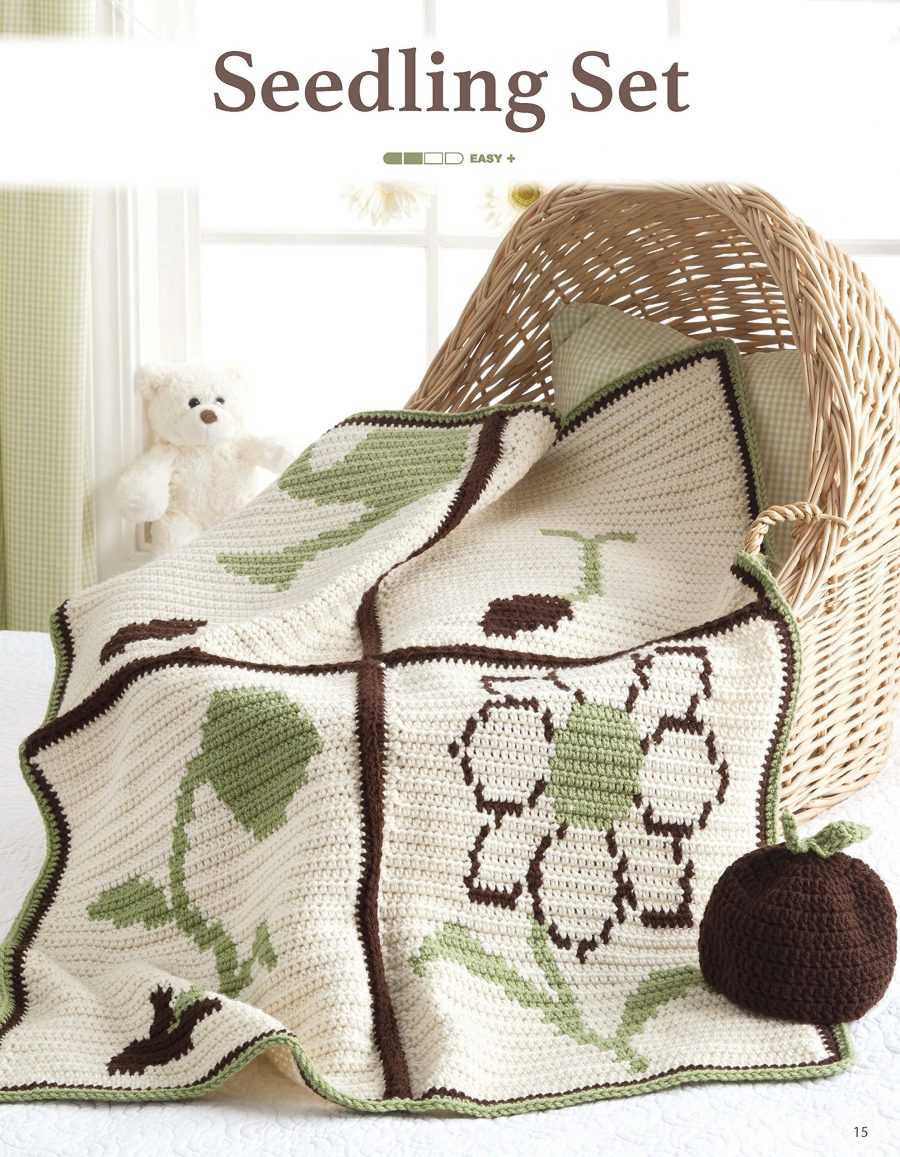 Nature's Gifts for Baby | Crochet | Leisure Arts (6718) - Seedling - life cycle of a plant