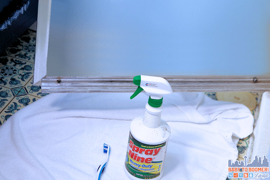 Spray Nine Challenge - Disgusting Shower Door - #spraynine #ad