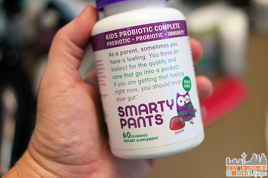 SmartyPants Kids & Adult Probiotic Complete Gummies - Keep Your Gut Healthy! #yourkidhasguts #ad
