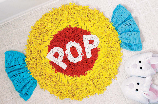Twinkie Chan's Crocheted Abode a la Mode: 20 Yummy Crochet Projects for Your Home Bubble Gum Rug