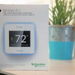 Wiser Air Wi-Fi Thermostat: Automate Your Heating and Cooling to Save Money  #WiserAir @wiserair #LifeisOn