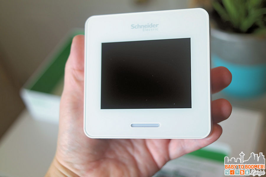 Wiser Air - Wi-Fi Smart Thermostat by Schneider Electric #ad
