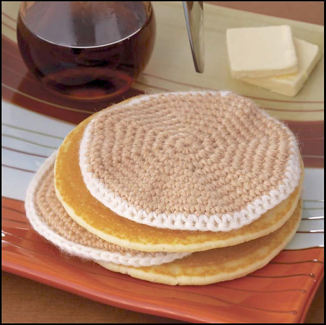 Yummi Gurumi Over 60 Gourmet Crochet Treats to Make - Pattern pancakes