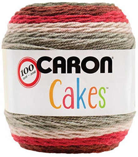 Caron Cakes Red Velvet Yarn - Find Free Patterns featuring this yarn at BabytoBoomer.com