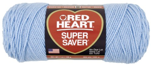 Red Heart Super Saver Economy Yarn, Light Blue