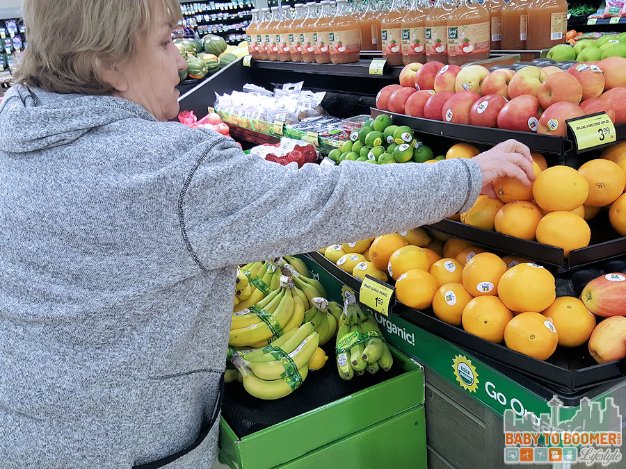 Buying Organic Produce - just for U®: Albertsons Savings Program with Personalized Deals #ad