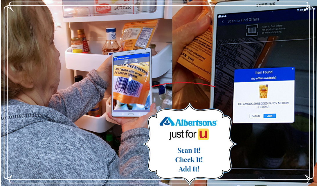 Scan it! just for U®: Albertsons Savings Program with Personalized Deals #ad