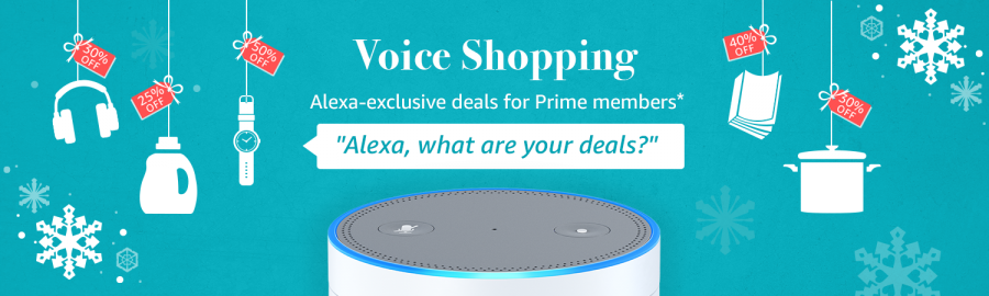 Alex Deals - Amazon Prime Members Save up to 40% on Daily Deals that Can only Be order via Alexa (by voice)
