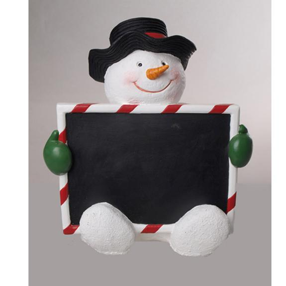 Christmas Snowman Countdown Chalkboard - Shop the American Diabetes Association Gift of Hope Catalog #ad