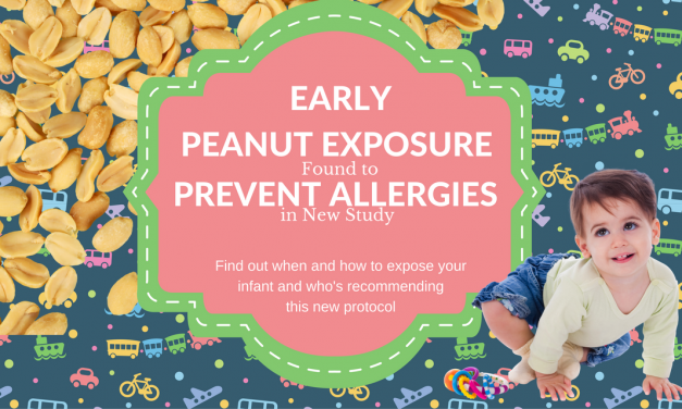 Early Peanut Exposure Found to Prevent Allergies in New Study #peanutallergy #earlyintroduction