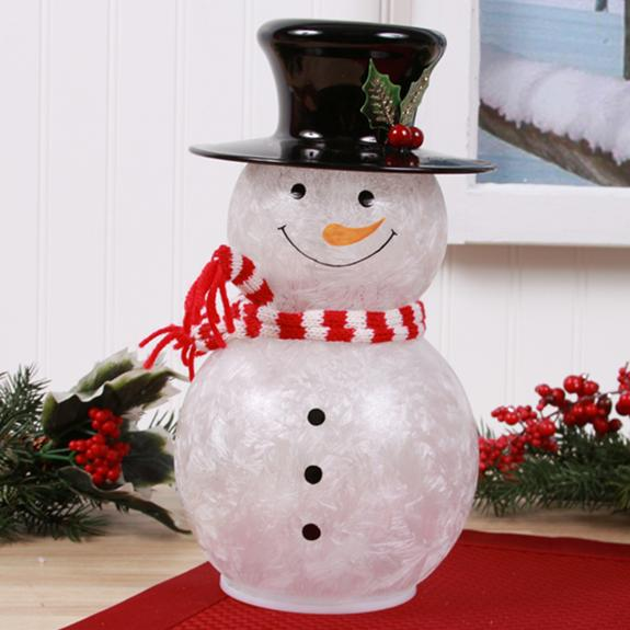 Frosty the LED Snowman - Shop the American Diabetes Association Gift of Hope Catalog #ad
