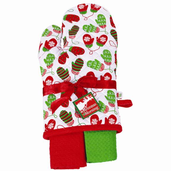 Merry Oven Mitt - Hostess Set - Shop the American Diabetes Association Gift of Hope Catalog #ad
