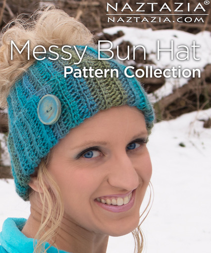 Messy Bun Hat - Crochet Updo Beanie, a free crochet pattern & video ...