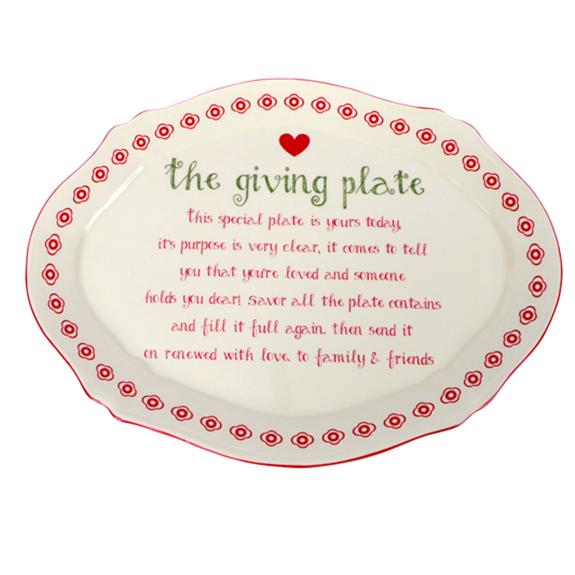 The Giving Plate - make a family memory! - Shop the American Diabetes Association Gift of Hope Catalog #ad